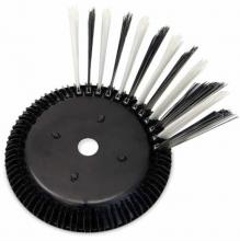 Weber Bürstensysteme Tellerbesen Montageplatte und Büschel