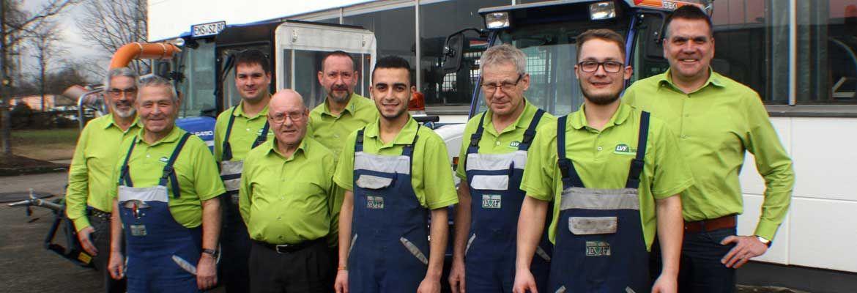 LVF Gartentechnik in Koblenz Team