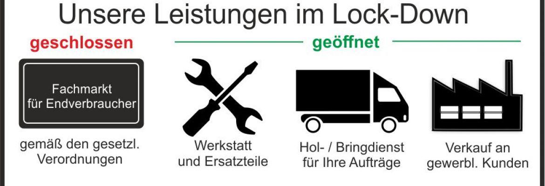 Lock down Informationen LVF Koblenz