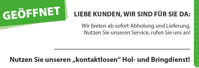 LVF Koblenz Geschäft geöffnet