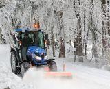Winterdienst mit Iseki Kommunaltraktoren